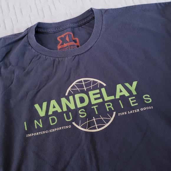 Vandelay Industries Seinfeld Tee Shirt Gray XL